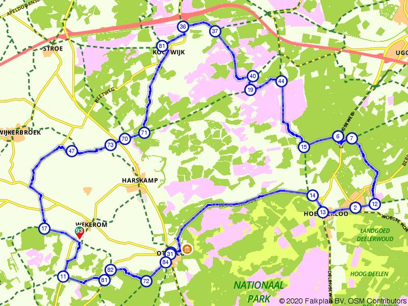Het Kootwijkerzand en Nationaal Park De Hoge Veluwe