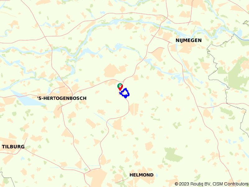 Wandelen door de Maashorst