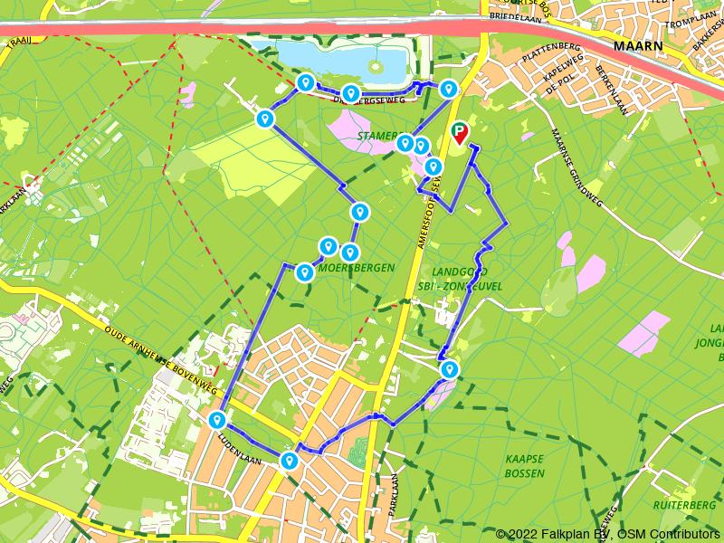 Wandelen op de Utrechtse Heuvelrug