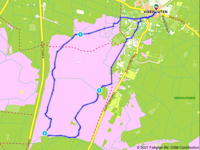 Wandelen over de Elspeetse Heide