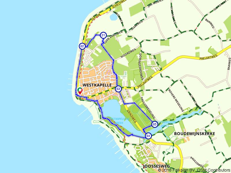 Een mooie wandeling rondom Westkapelle