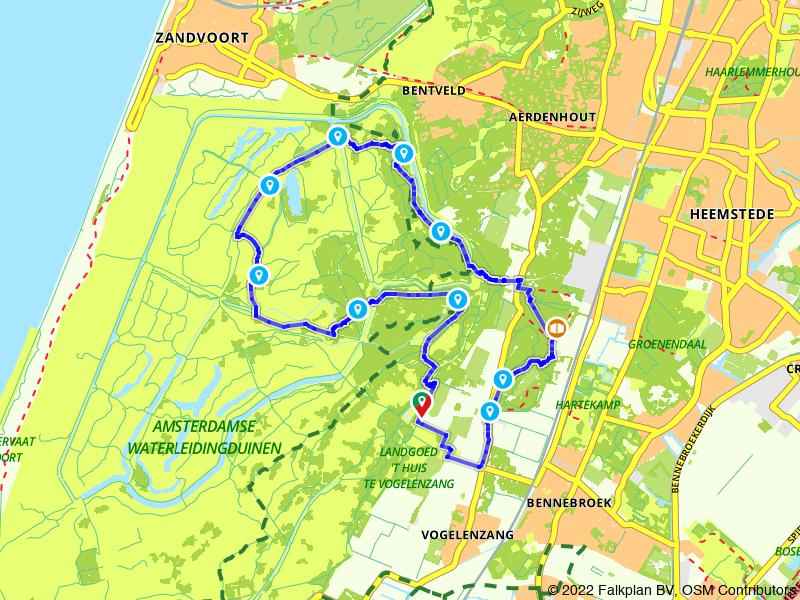 Wandelen door de Amsterdamse Waterleidingduinen