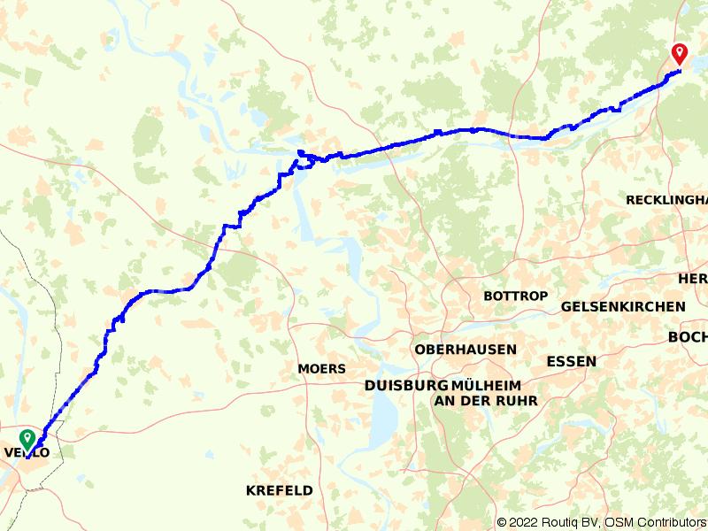 Die Venloer Bahn (Venlo - Wesel - Haltern)