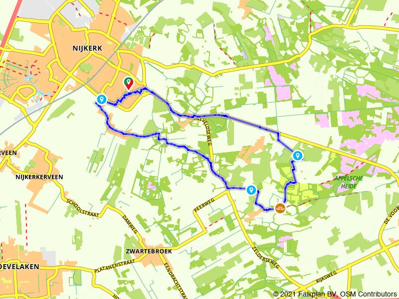 Wandelen in het buitengebied van Nijkerk