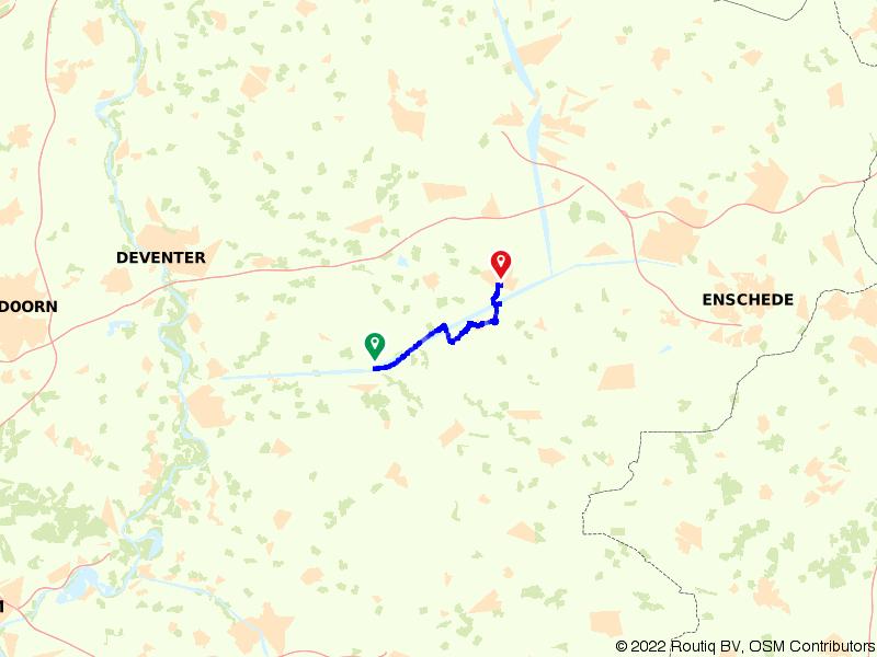 Kastelen bewonderen tussen Lochem en Goor