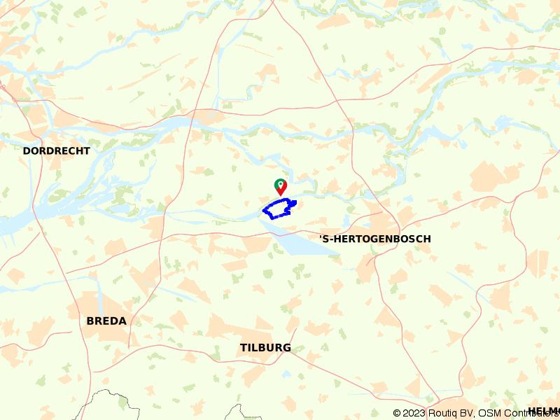 Wandelroute Heusden