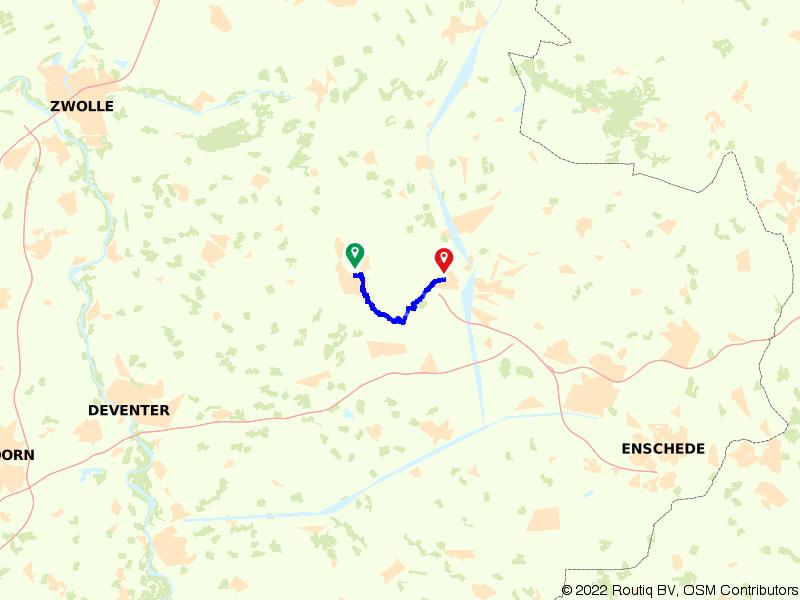 Treinwandeling Nijverdal-Wierden: door het Reggedal
