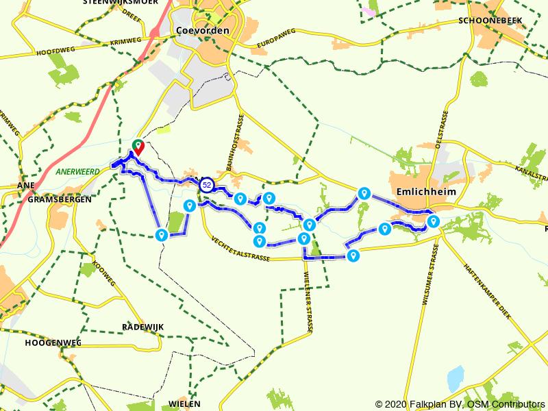 Holtheme - Vechtdal - Emlichheim (rondje)