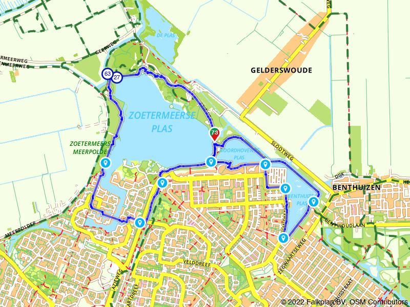 Wandelen langs Zoetermeerse Plassen