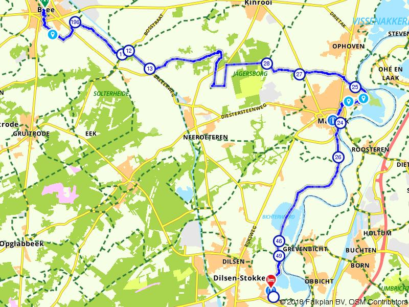 Vlaamse Meesters route etappe 5