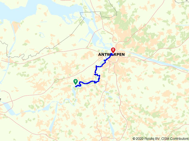 Vlaamse Meesters route etappe 29