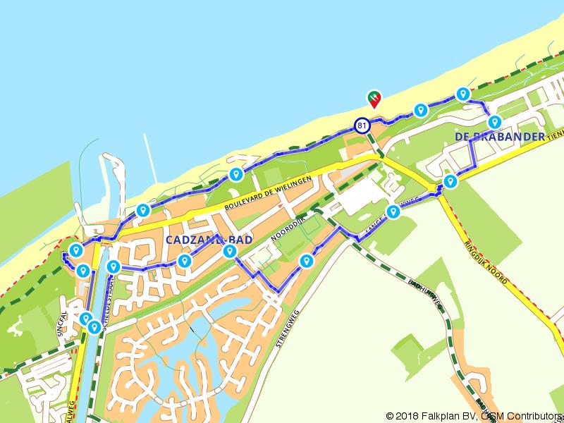 Korte wandeling door Cadzand-Bad