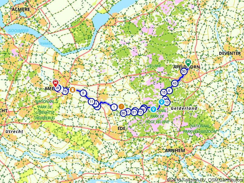Von Uffenbach Route deel 4 (Apeldoorn - Amersfoort)