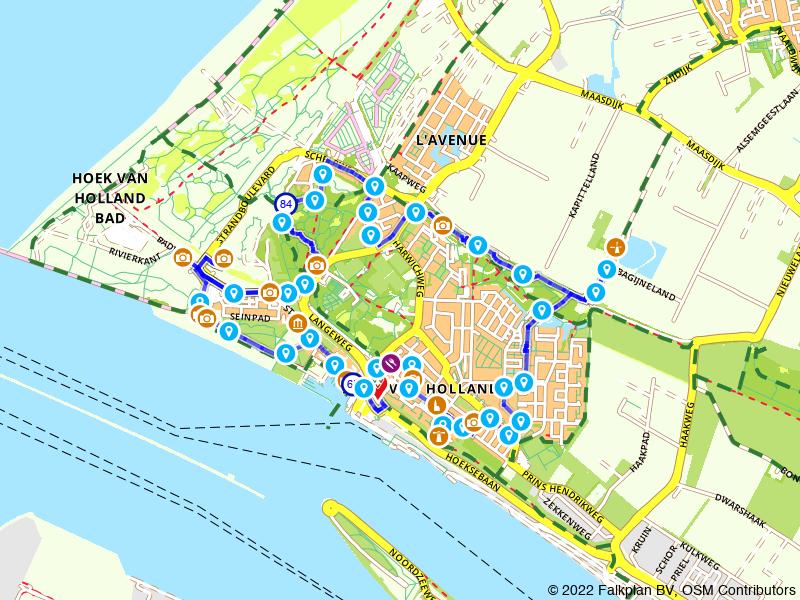 Historische route Hoek van Holland