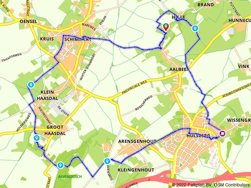 Wandelen van Schimmert naar Hulsberg