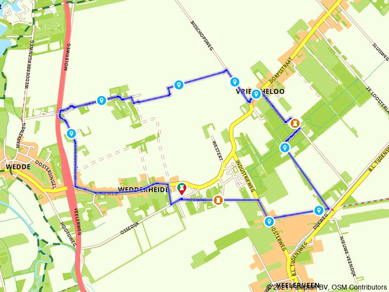 Wandelen in Oost-Groningen