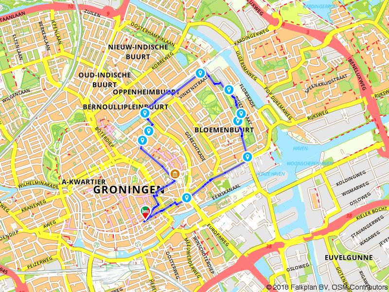 Te voet genieten van Groningen