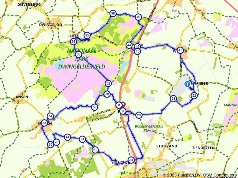 Green Planet - Col Du VAM route