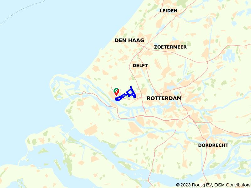 Wandelen door Maassluis en de Broekpolder